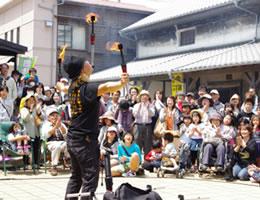 昭和の町大道芸祭画像