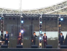OBS感謝祭2013フードスタジアム「Baby Booライブ」写真