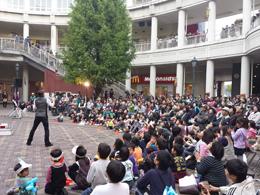 「第9回トキハわさだタウン大道芸フェスティバル」写真