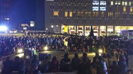 福岡「天神ヒカリスクエア」イベント写真