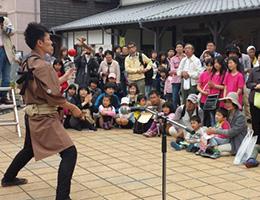 第2回昭和の町大道芸祭写真